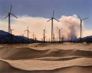 Windmills Near Palm Springs, California