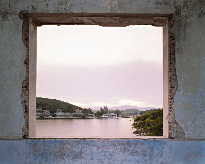 View of La Socapa From Club Nautica, Santiago de Cuba, 2004