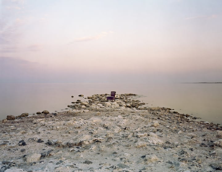 Pink Chair, Salton Sea Beach, CA